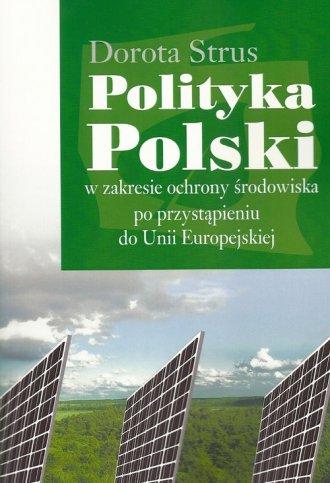 Polityka Polski w zakresie ochrony - okładka książki