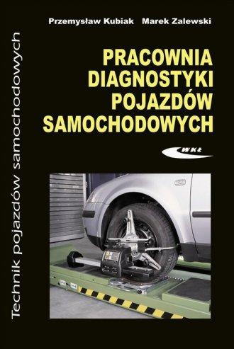 Pracownia diagnostyki pojazdów - okładka podręcznika