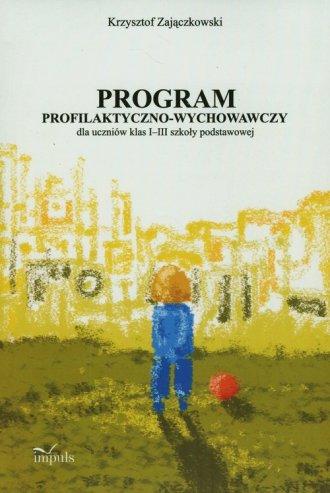 Program profilaktyczno-wychowawczy - okładka książki