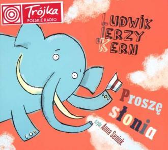 Proszę słonia - pudełko audiobooku