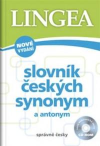 Słownik synonimów i antonimów języka czeskiego - okładka książki