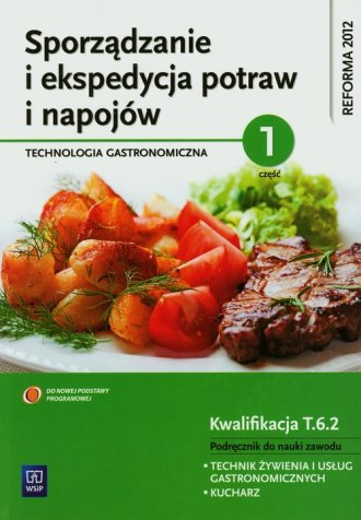 Sporządzanie i ekspedycja potraw - okładka podręcznika