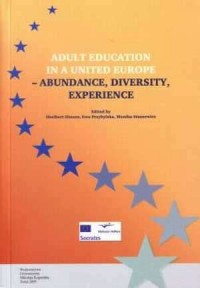 Adult education in a united Europe - abundance, diversity, experience - okładka książki