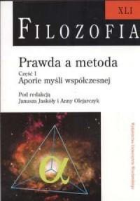 Filozofia XLI. Prawda a metoda - okładka książki
