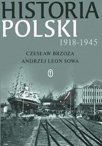 Historia Polski 1918-1945 - okładka książki