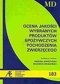 Ocena jakości wybranych produktów - okładka książki