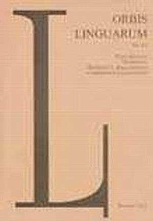 Orbis Linguarum vol. 29(2005) - okładka książki