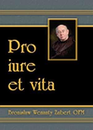 Pro iure et vita. Wybór pism - okładka książki