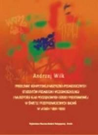 Problemat kompetencji muzyczno-pedagogicznych studentów pedagogiki wczesnoszkolnej i nauczycieli klas początkowych szkoły podstawowej w świetle przeprowadzonych badań w latach 1992-1999 - okładka książki