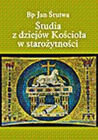 Studia z dziejów Kościoła w starożytności - okładka książki