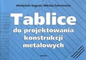 Tablice do projektowania konstrukcji - okładka książki