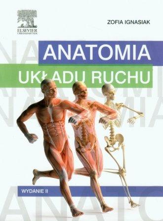 Anatomia układu ruchu - okładka książki