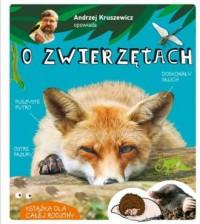 Andrzej Kruszewicz opowiada o zwierzętach - okładka książki
