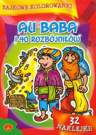 Bajkowe kolorowanki. Ali Baba i - zdjęcie zabawki, gry