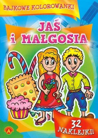 Bajkowe kolorowanki. Jaś i Małgosia - zdjęcie zabawki, gry