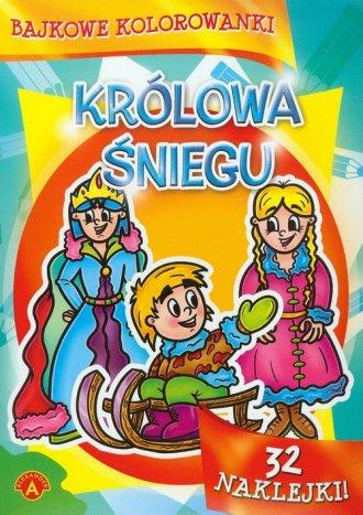 Bajkowe kolorowanki. Królowa Śniegu - zdjęcie zabawki, gry