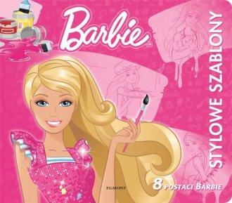 Barbie. Stylowe szablony - okładka książki