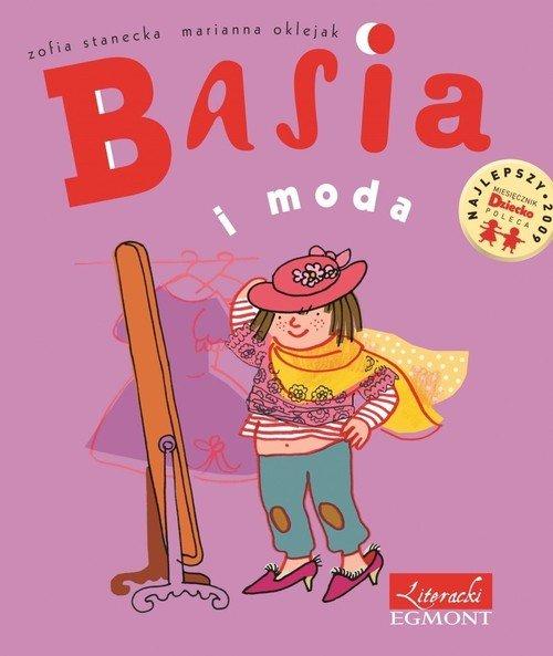 Basia i moda - okładka książki