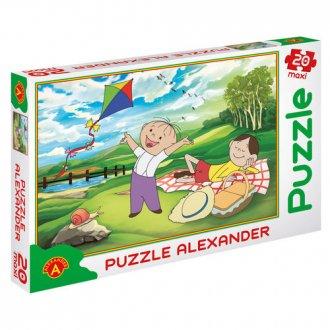 Bolek i Lolek. Piknik (puzzle maxi - zdjęcie zabawki, gry