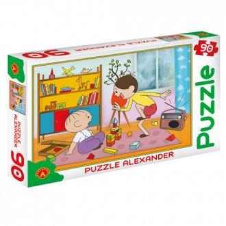 Bolek i Lolek. Taniec (puzzle - - zdjęcie zabawki, gry