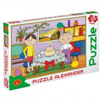 Bolek i Lolek. Tort (puzzle maxi - zdjęcie zabawki, gry