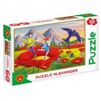 Calineczka (puzzle - 60 elem.) - zdjęcie zabawki, gry