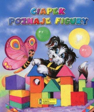 Ciapek poznaje figury - okładka książki