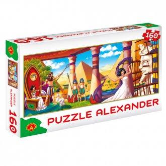 Czas Faraonów (puzzle - 160 elem.) - zdjęcie zabawki, gry