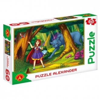 Czerwony Kapturek (puzzle - 60 - zdjęcie zabawki, gry
