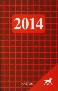 Kalendarz 2014. Kastor - okładka książki