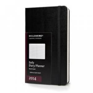 Kalendarz 2014. Moleskine - terminarz - okładka książki