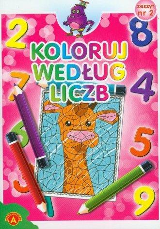 Koloruj według liczb zeszyt 2 - zdjęcie zabawki, gry