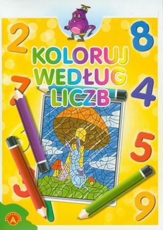 Koloruj według liczb zeszyt 4 - zdjęcie zabawki, gry