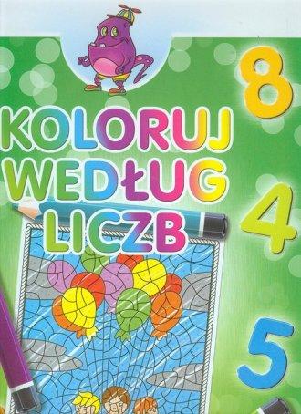 Koloruj według liczb zeszyt 6 - zdjęcie zabawki, gry