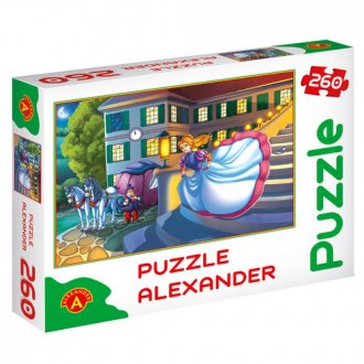 Kopciuszek (puzzle - 260 elem.) - zdjęcie zabawki, gry