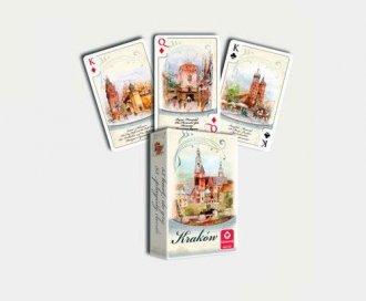 Kraków - akwarele (talia 55 listków) - zdjęcie zabawki, gry