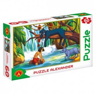 Księga dżungli (puzzle - 60 elem.) - zdjęcie zabawki, gry