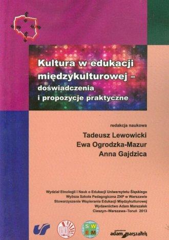Kultura w edukacji międzykulturowej - okładka książki