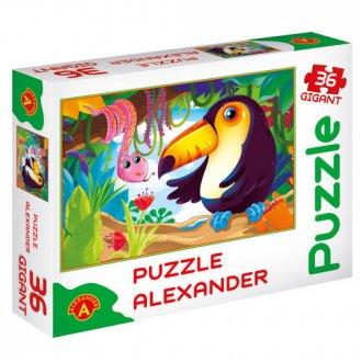 Mała Dżungla (puzzle gigant - 36 - zdjęcie zabawki, gry