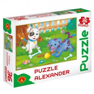 Małe pieski (puzzle gigant - 36 - zdjęcie zabawki, gry