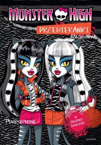Monster High. Przebieranki. Toralei - okładka książki
