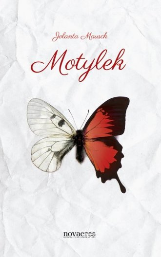 Motylek - okładka książki