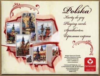 Polska - akwarele (talia 55 listków) - zdjęcie zabawki, gry