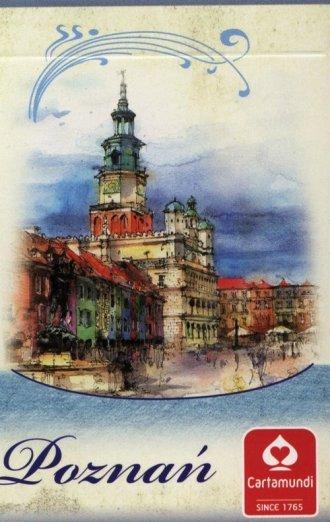 Poznań - akwarele (talia 55 listków) - zdjęcie zabawki, gry