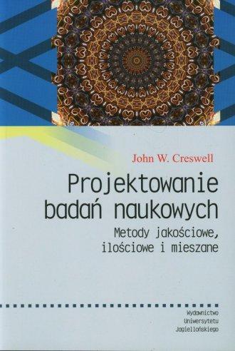Projektowanie badań naukowych. - okładka książki