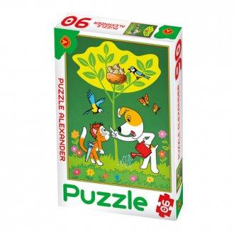 Reksio. Ogrodnik (puzzle - 90 elem.) - zdjęcie zabawki, gry