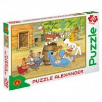 Reksio rekonwalescent (puzzle maxi - zdjęcie zabawki, gry