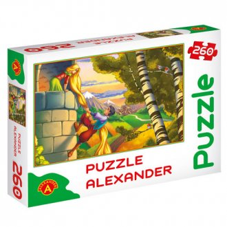 Roszpunka (puzzle - 260 elem.) - zdjęcie zabawki, gry