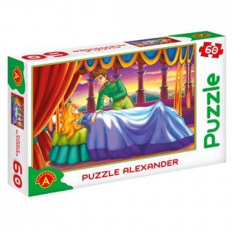 Śpiąca Królewna (puzzle - 60 elem.) - zdjęcie zabawki, gry