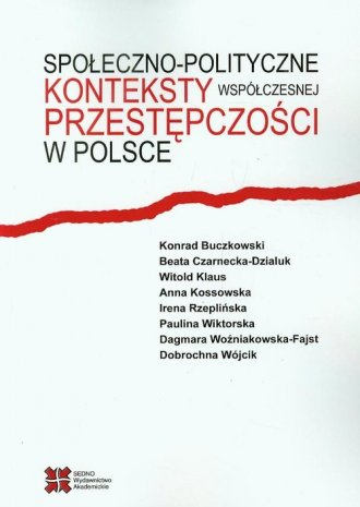 Społeczno-polityczne konteksty - okładka książki
